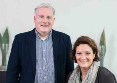 InnoWITA GmbH, Tanja Abele und Holger Widenmeyer